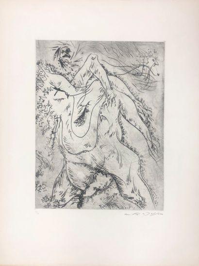 André MASSON (1896-1987)  Abstraction  Eau...