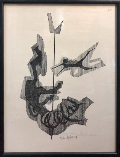 20842  Ecole Moderne  Composition abstraite...