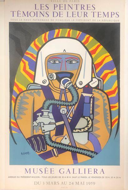 Une affiche André Lhote, Musée Galliera,...