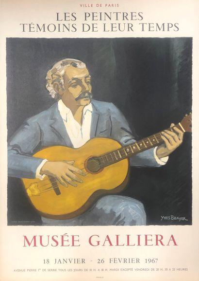 Une affiche Yves Brayer