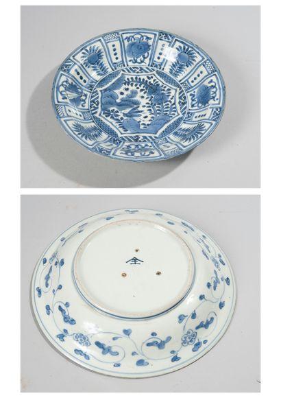CHINE, époque Wanli (1573-1620). Assiette...