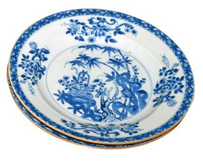CHINE, porcelaine d'exportation émaillée...