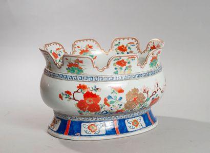 CHINE porcelaine d'exportation, XVIIIème...