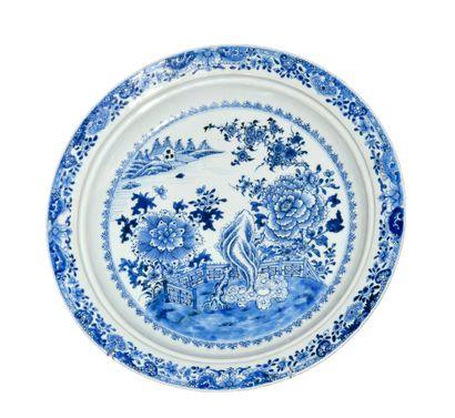 CHINE, porcelaine d'exportation XVIIIème...