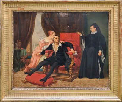 Dans le gout du XVIIe siècle  Intérieur et...