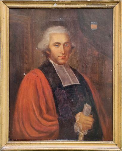Travail dans le gout du XVIIIe  Portrait...
