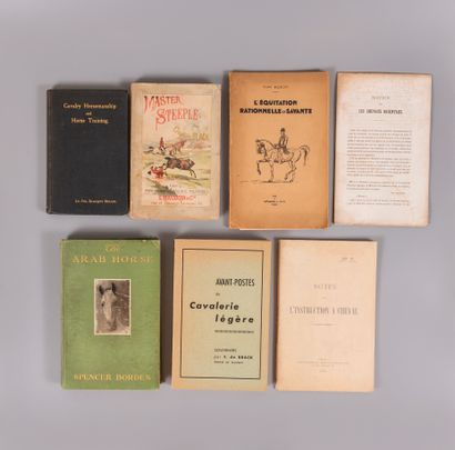 CHEVAUX. — Divers, 7 ouvrages.  - BLACK....