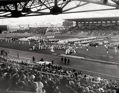 JEUX OLYMPIQUES – PARIS – 1924 Sans Prix de réserve -  Cérémonie d'ouverture des...