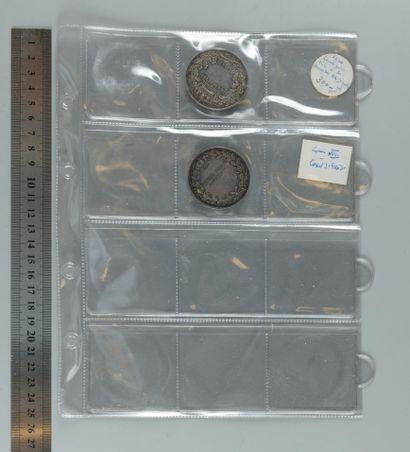 Médailles parlementaires (Cinq-Cents, 1848, Chambre des députés). Classeur de 7...