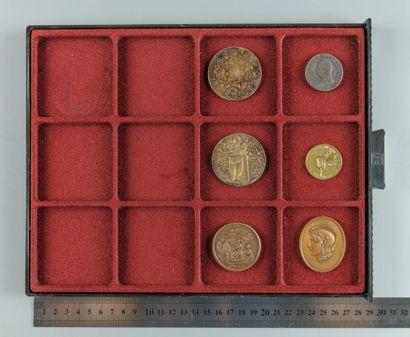 Médailles ésotériques et divers. Lot de 6...