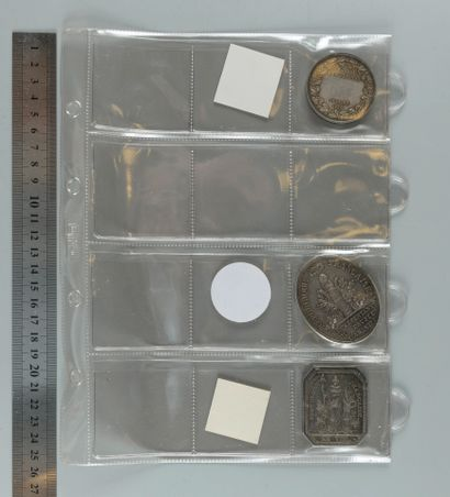 Médailles parlementaires (Cinq-Cents, 1848,...