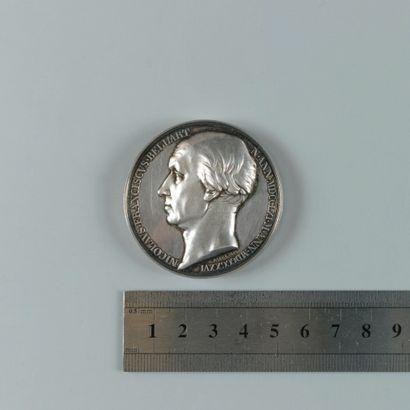 François Bellart. Médaille en argent par...