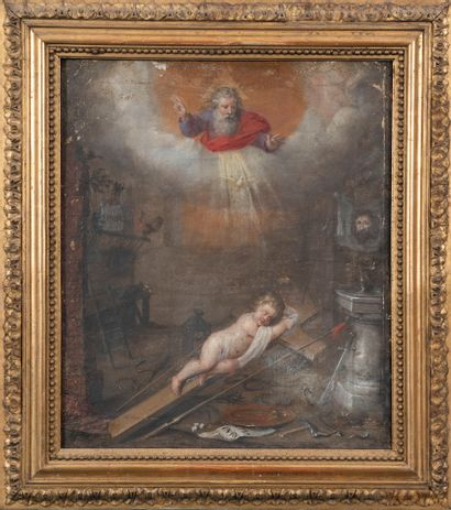 Ecole flamande vers 1640  Scène allégorique...