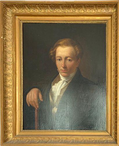 Ecole Romantique  Portrait de Gustave Euphranor...