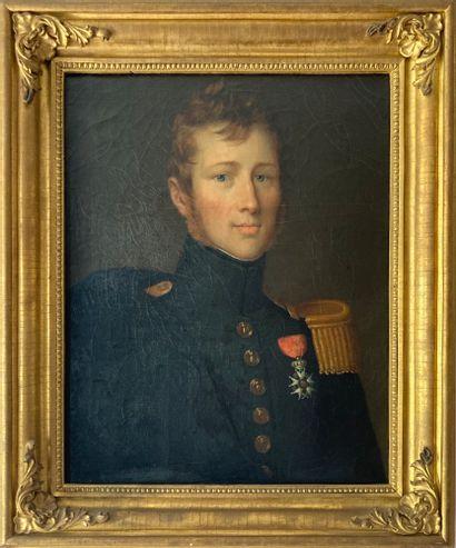 Ecole Française vers 1830  Portrait d'homme...
