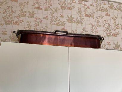 Batterie de cuisine en cuivre