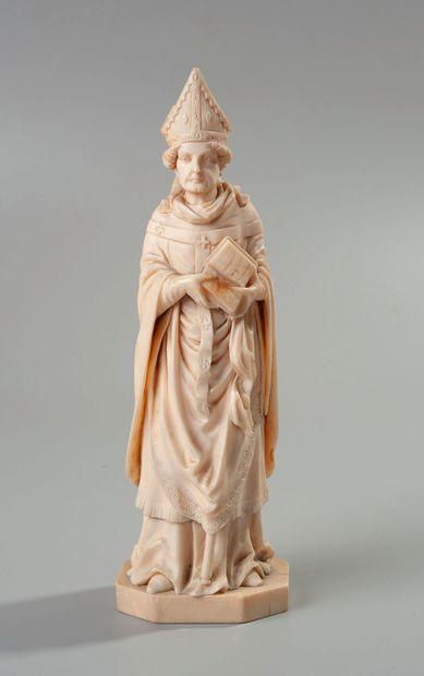 Dieppe, XIXe siècle  Saint évêque  (accidents...