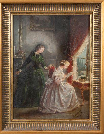 Lucie DESTIGNY (active au XIXe siècle)  Deux...