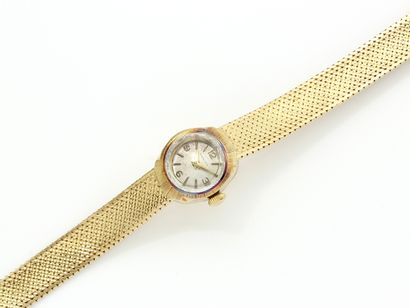 ZENITH  Montre bracelet de dame en or 750...