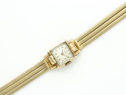 MOVADO  Montre bracelet de dame en or 750...