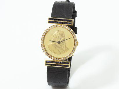CHOPARD  Montre bracelet en or 750 millièmes,...