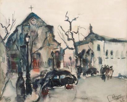 G.AGAR Eglise, 1950