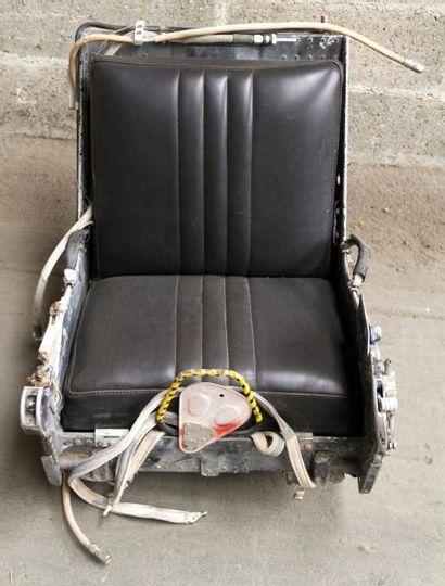 SIEGE ÉJECTABLE provenant d'un F-4 McDonnell Douglas Phantom II - 1958-1981 - USA...