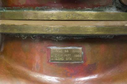 CASQUE DE SCAPHANDRIER RUSSE trois boulons.