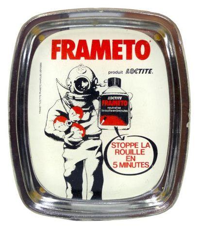 RAMASSE-MONNAIE publicitaire «Frameto» figurant...