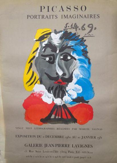 PABLO PICASSO - Portraits imaginaires 1969...
