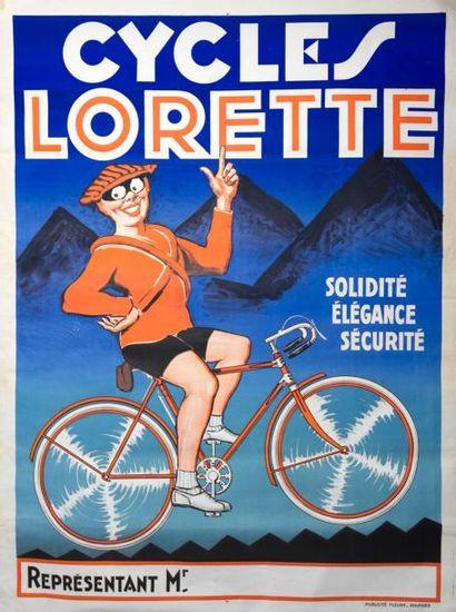 CYCLES LORETTE (Circa. 1900)