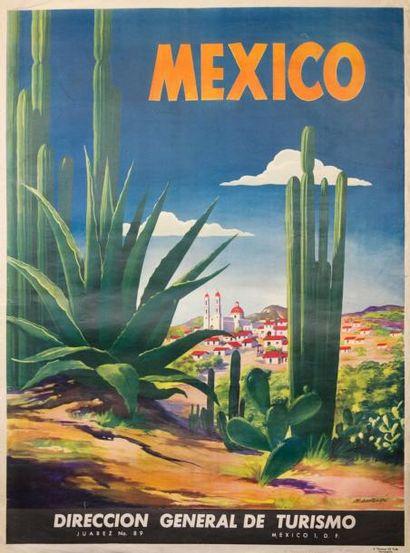 MAGALLON - MEXICO (cactus) - Direction Générale...