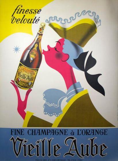 VIELLE AUBE - Fine Champagne à l'orange,...