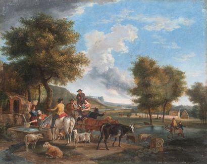 Ecole FRANCAISE du XIXème siècle, d'après Jean Louis DEMARNE
