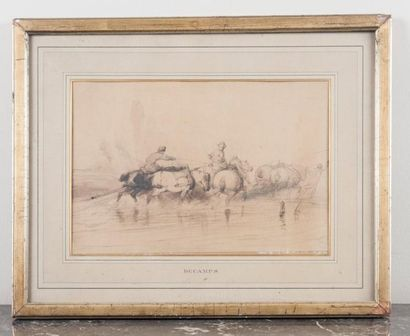 Attribué à Alexandre Gabriel DECAMPS (1803-1860)