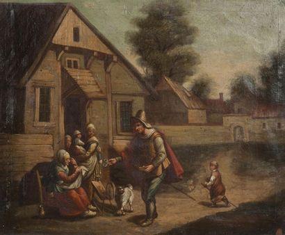 Ecole FLAMANDE du début du XIXème siècle
