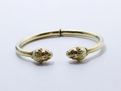 ZOLOTAS Bracelet rigide à charnière en or...