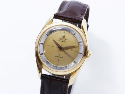 UNIVERSAL GENEVE ''POLEROUTER'' Montre bracelet...
