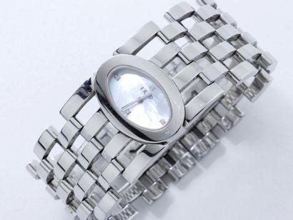 FRED Montre bracelet de dame en acier, cadran...