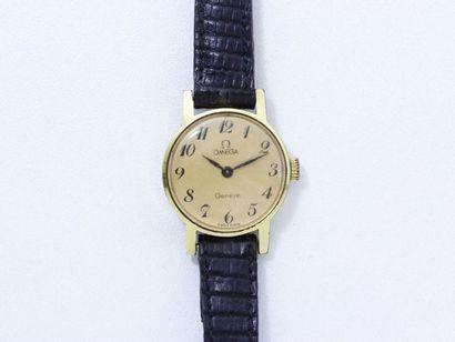 OMEGA ''GENÈVE'' Montre bracelet de dame...