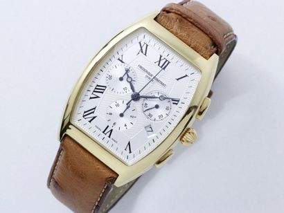FREDERIQUE CONSTANT Montre chronographe en...