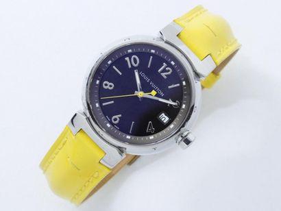 LOUIS VUITTON ''TAMBOUR'' Montre bracelet...