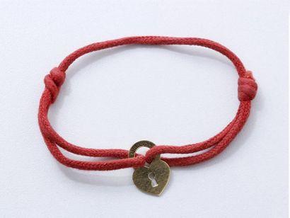 DINH VAN Bracelet en or 750 millièmes, composé...