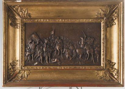 D'après François Gérard, XIXe  siècle.  Entrée...