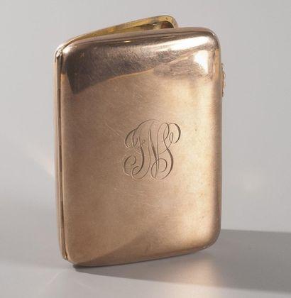 Angleterre, circa 1894  Etui à cigarettes...