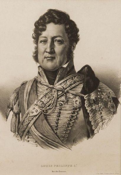 France, circa 1825.  Louis-Philippe, duc...