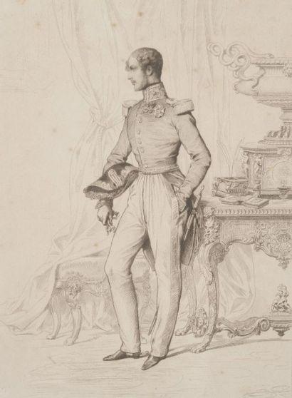 Lami, Eugène (d'après), circa 1840  Ferdinand-Philippe...