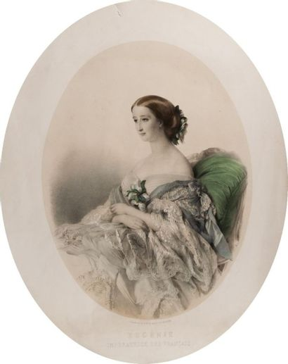 Winterhalter F. X. d'après, XIXe siècle  Eugénie,...