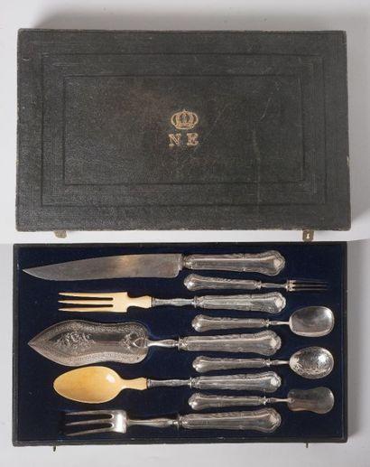 Roussel D., circa 1864-1870  Nécessaire de...