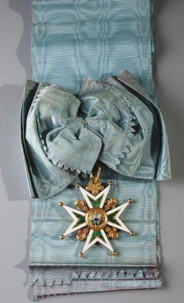 Ouizille, circa 1825. Ordre du Saint-Esprit...